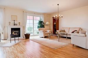 Living room Laminate Flooring Denver
