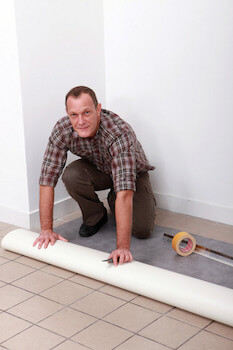 Dealing With Seams On Your Vinyl Floor