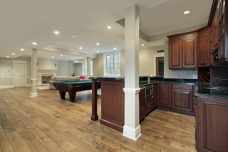 Selecting The Right Hardwood Floor For Your Basement