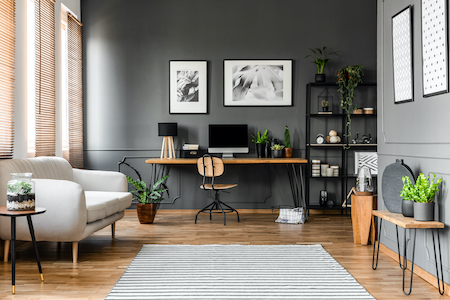 Flooring 101: Designing The Perfect Home Office From The Ground Up