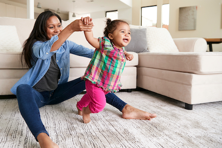 Choose Flooring That Makes Your Floors More Toddler Friendly